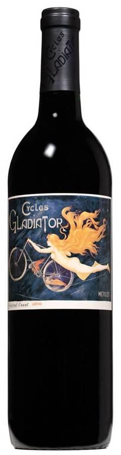 美國---加州單車女神梅洛紅酒 2007